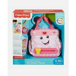 Fisher Price Laugh and Learn My Smart Purse  NEW in Slightly Damaged Box
