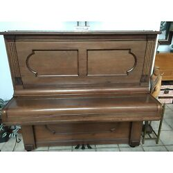 Kyпить Fabulous 1887 STEINWAY Upright Piano - Works and Sounds Great! S/N 61655 на еВаy.соm