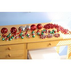 Kyпить Christmas Holiday Ornaments & Garland Lot Pre-owned на еВаy.соm