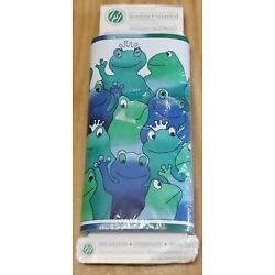 Wall Border RARE Pond Party frogs by Borders Unlimited vintage new old stock