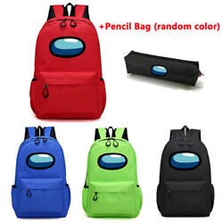 Among Us Students Schoolbag Kids Boys Girls Outdoor Travel Storage Bags Backpack