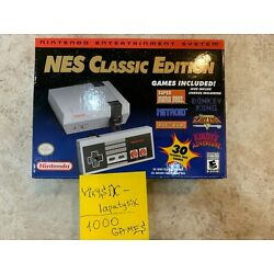 Nintendo NES Classic Mini Edition HDMI Console 30 + 1000+ Games from Childhood