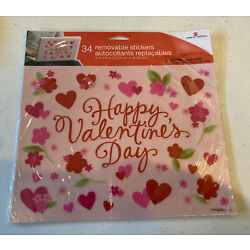 Happy Valentines Removable Stickers