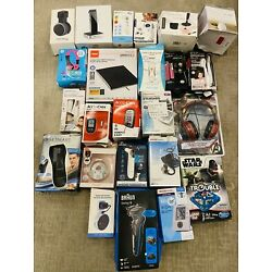 New Open Box Wholesale Mixed Lot of 24 Store Return Electronics Games As-Is