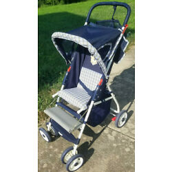 Cosco single seat Lightweight Foldable Stroller with Canopy and Added Leg Rest