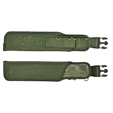 img-Original British Army Belt Pouch Military Combat Field Gear Holster Olive Green