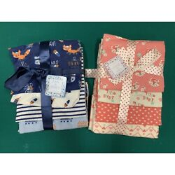 Zak & Zoey 4-Pack Baby Receiving Blankets, Choose Color, New