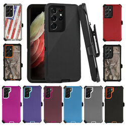 For Samsung S21 / S21 Plus / S21 Ultra Case Cover (Clip Fits Otterbox Defender)