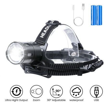 img-Viper Special Ops Tactical Military Army White Red LED Head Torch Headlamp UK