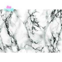 Self-Adhesive Vinyl Film Home Furniture Decoration Marble White 26 in. x 78 in.