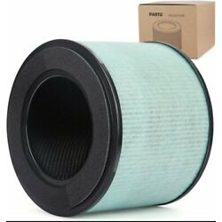 PARTU BS-08 HEPA Air Filter Replacement Filter, 3-in-1 Filtration System LW-02