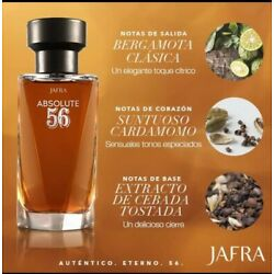 Jafra ''Absolute 56'' Eau the Toilette (For Men) 3.3oz New in Box