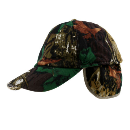 img-Cotton hat with outdoor headlights fishing hunting hat