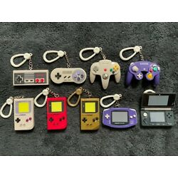 Nintendo Classic Consoles Backpack Buddies Keychains Various Pieces