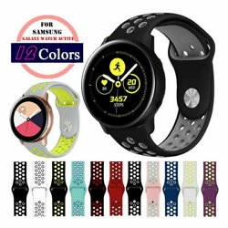 Sport Silicone Breathable Watch Band For Samsung Galaxy Watch 4 40/44mm Classic