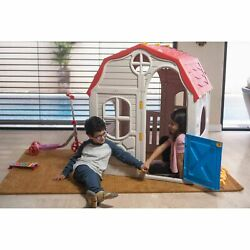 New Quality Products Kids Cottage Foldable Plastic Outdoor Theater