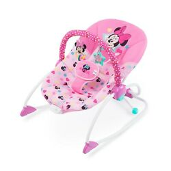 Disney Baby Minnie Mouse Infant to Toddler Rocker with Soothing Vibration