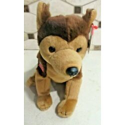 Ty Beanie Baby Courage the Dog MWMT Free Shipping