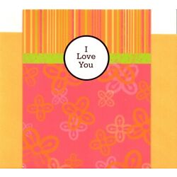 I Love You More & More Each Moment and Day Theme Hallmark Greeting Card