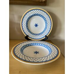 Villeroy and Boch Switch Collection Twist Anna soup salad bowls 2pc set 9.5 D