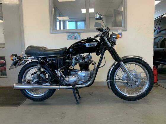 1973 Triumph Bonneville T120R 650 TWIN' LAST OWNER 13 YEARS' CLASSIC MOTORCYCLE