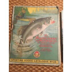 1928 No. 35 Allcock Laight & Westwood Sporting Goods Catalog Fly Fishing Hunting