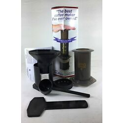 Aerobie AeroPress 1-3 Cup Coffee and Espresso Maker with 350 Filters A80 New