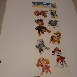 One Paw Patrol Paper Wall Decals Autocollants