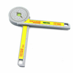 Pro-Site Accurate Angle Measurements Joiner Carpenter Tools Miter Saw Protractor