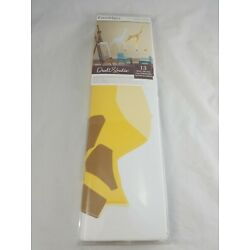 Roommates Peel And Stick Giraffe Wallpaper Baby Nursery Wall Decal Made in Usa