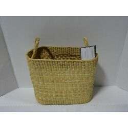*NEW* Oval Basket with handles Natural - Threshold