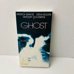 Ghost VHS Tape Patrick Swayze Demi Moore New Sealed