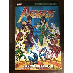 AVENGERS: A TRAITOR STALKS AMONG US TPB (2021) Marvel; Epic Collection Vol. 6