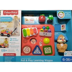 fisher Price laugh &learn and play learning wagon for kid 6-36 M