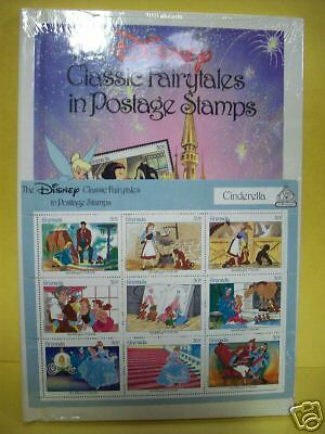 The Disney Classic Fairytales Postage Stamps Amp Book Ebay