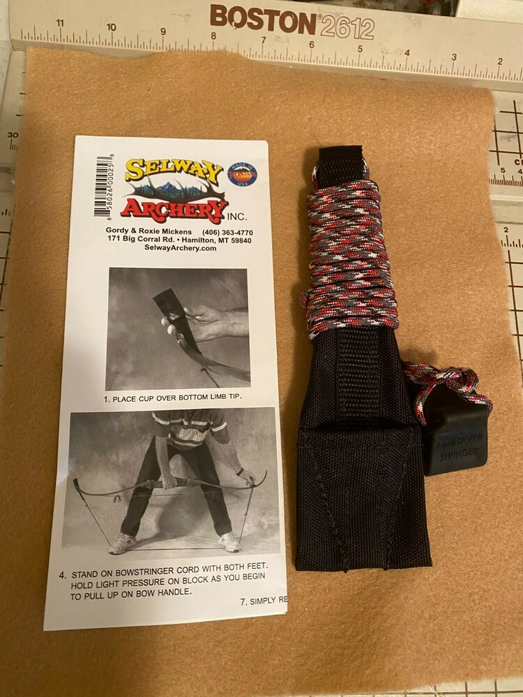 Sporting Goods Selway Limbsaver Archery Longbow Stringer