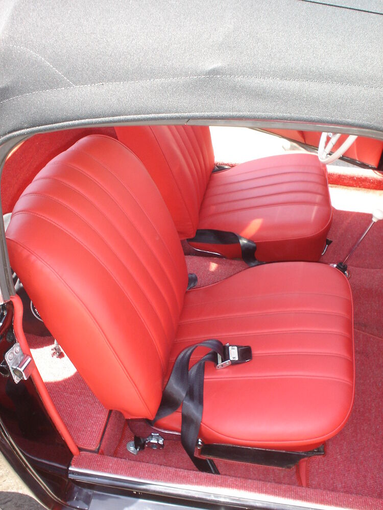 mercedes leather seat covers 190sl 1957 1963 ebay. Black Bedroom Furniture Sets. Home Design Ideas