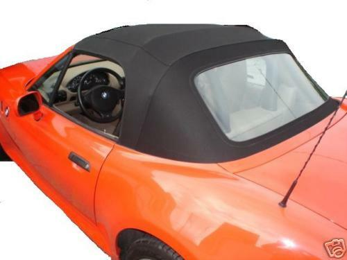Bmw Z3 96 97 98 99 00 01 02 Convertible Top Black Stayfast