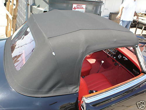 Soft Tonneau Cover >> MERCEDES 190SL CONVERTIBLE TOP W121 CHASSIS | eBay