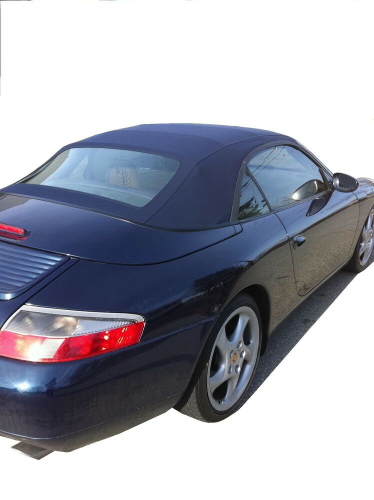 Porsche 996 Convertible Top Blue 1999 2001 German Ebay