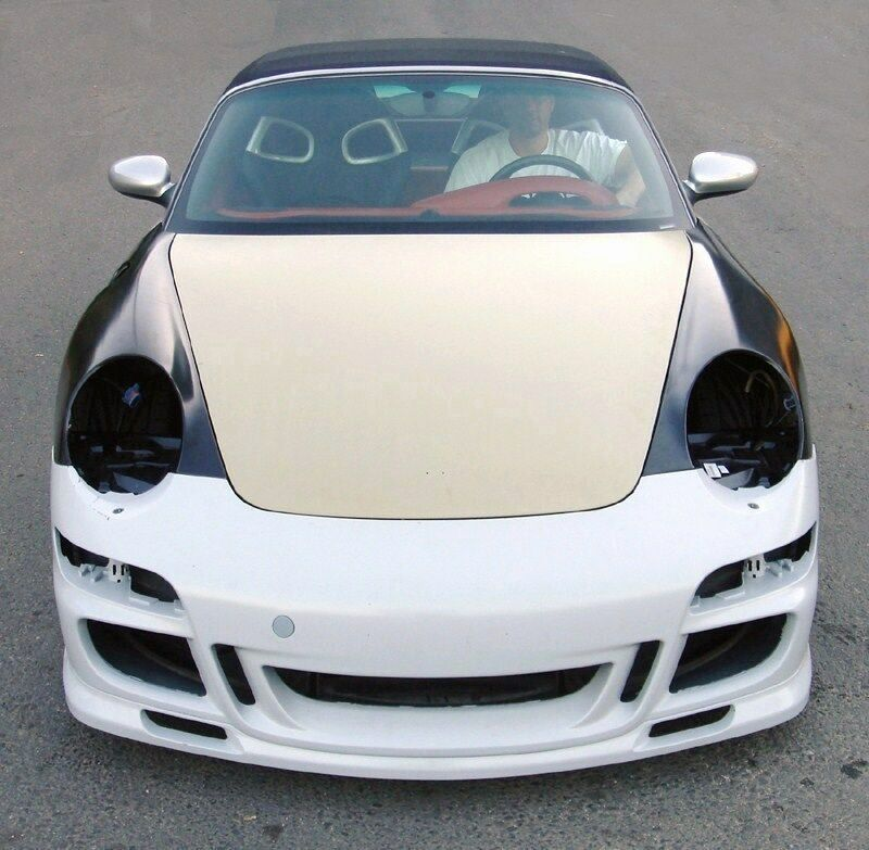 porsche 986 boxster 996 to 997 gt3 conversion new ebay. Black Bedroom Furniture Sets. Home Design Ideas
