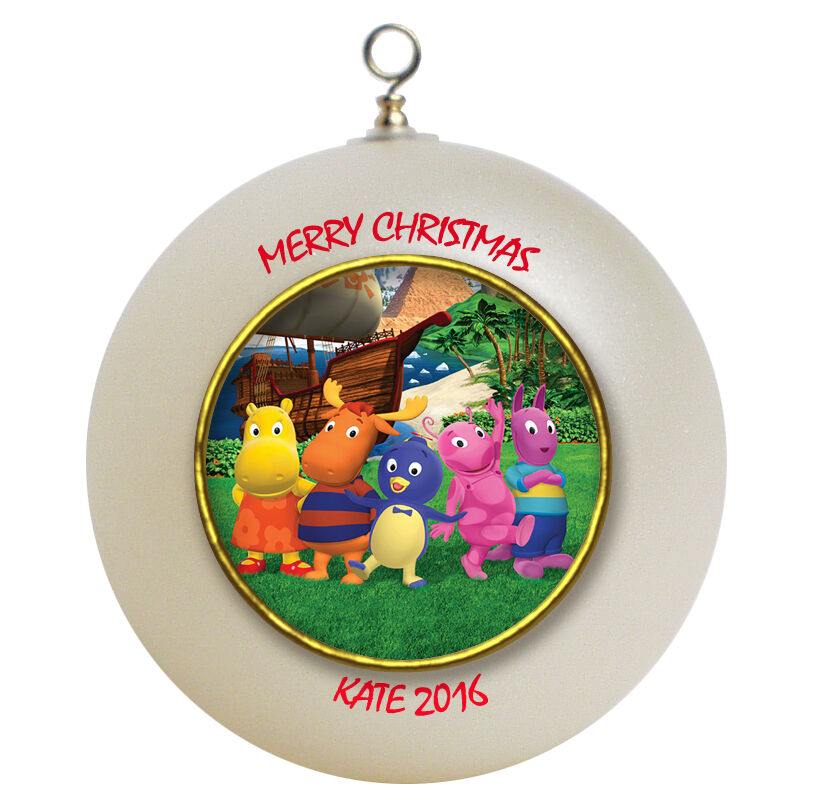 personalized christmas ornaments personalized backyardigans ornament ebay 11867