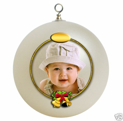Babys First Christmas Gifts: Personalized Baby's First Christmas Ornament Gift