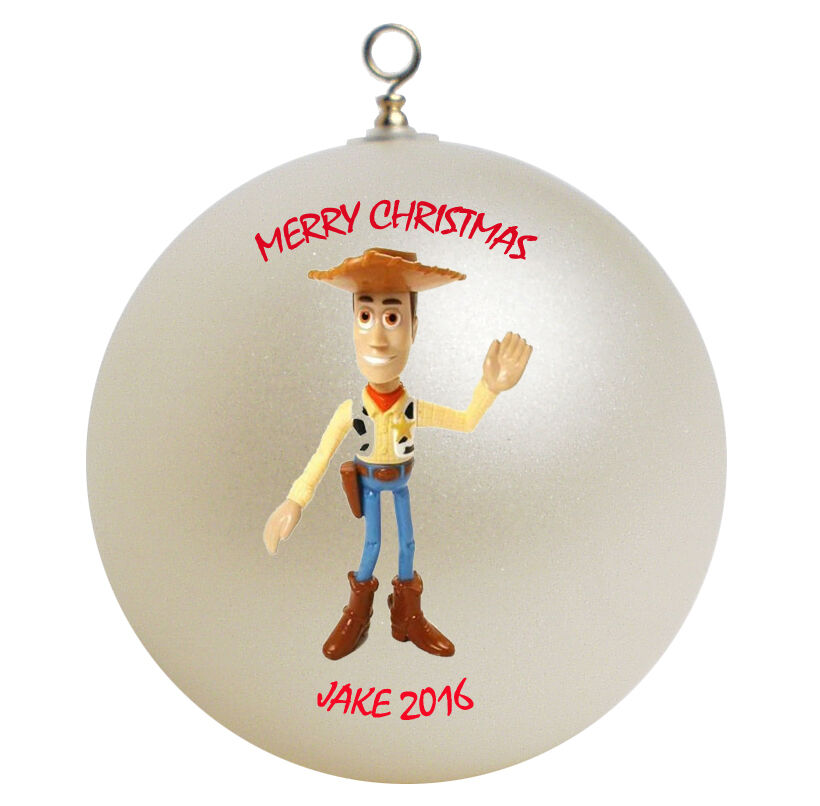 Toys For Ornaments : Personalized toy story woody christmas ornament ebay