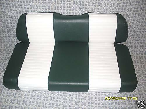 Golf Cart Seat Replacement : Club car golf cart seats and up completed replacement