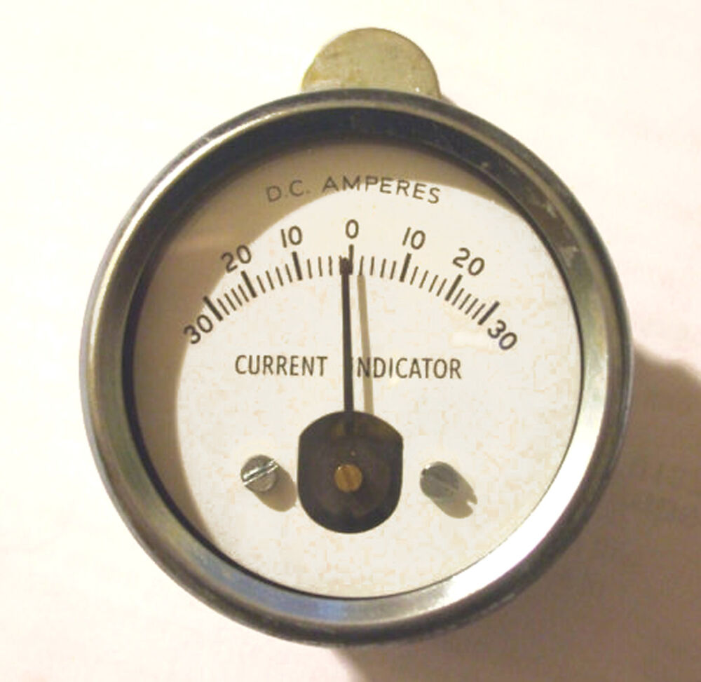 Induction Amp Meter Pick Up : Durite induction ammeter amps coa ebay