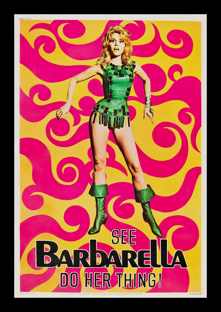 BARBARELLA * 40x60 CineMasterpieces ORIGINAL VINTAGE MOVIE ...
