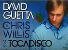 DAVID GUETTA Vs TOCADISCO TOMORROW CAN WAIT CD PROMO