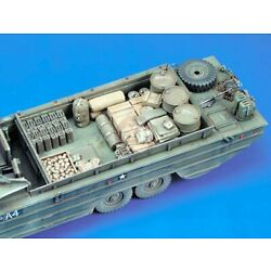 Royal Model 1/35 DUKW Amphibious Truck Stowage and Accessories Set WWII 365