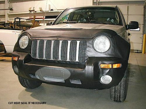 Lebra front end mask bra fits jeep liberty 2002 2003 2004 ebay for 2004 jeep liberty interior accessories